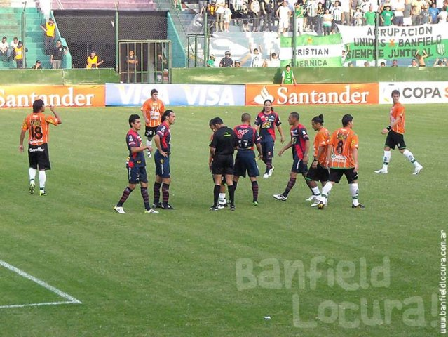 Banfield vs Morelia